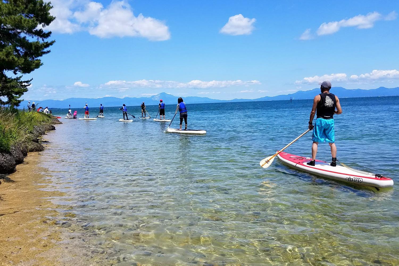 雄大な山々と美しい琵琶湖を堪能しましょう!