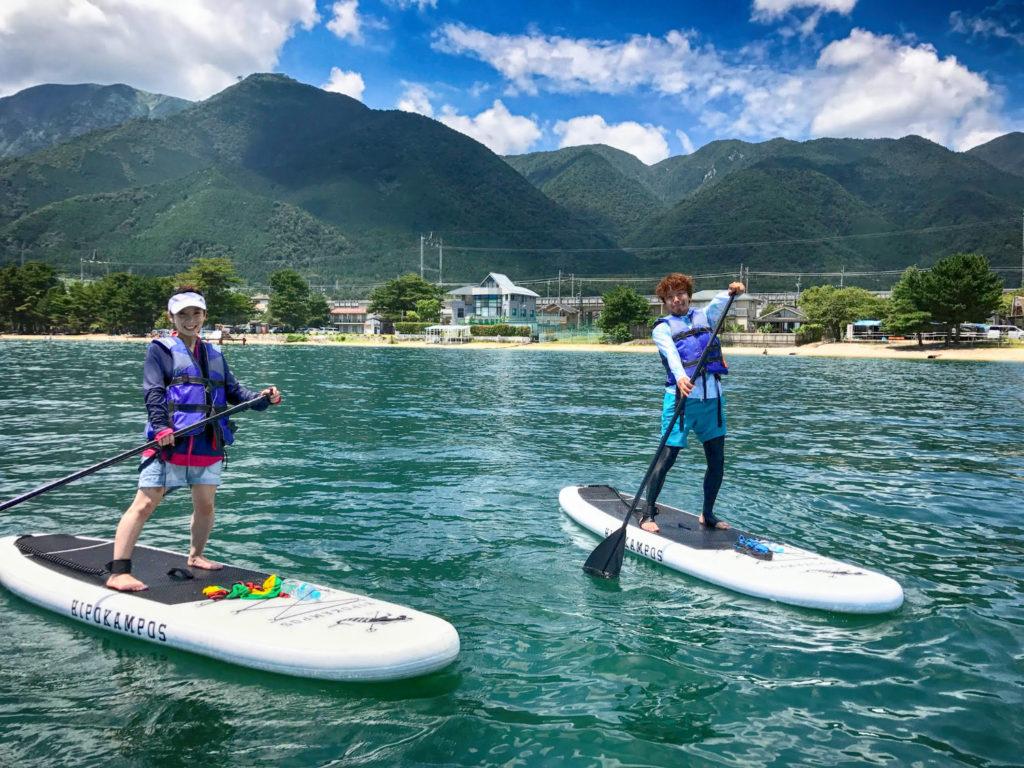 雄大な山々と広大な琵琶湖の織りなすハーモニー!