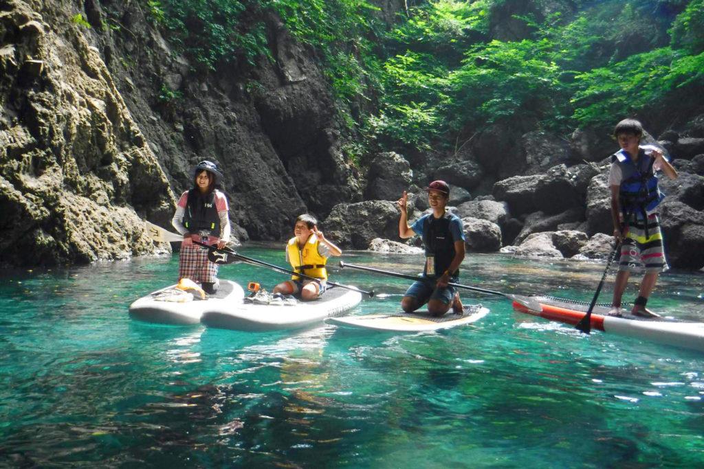 日本海への青の洞窟探索ツアー!