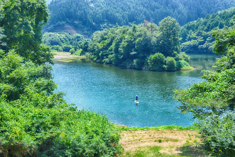 美しい緑に囲まれて、大自然を全身で感じましょう!