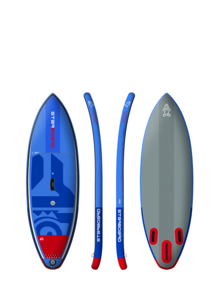 空気でサーフィン。サーフパフォーマンスとフォイルに特化したインフレータブルボード。
