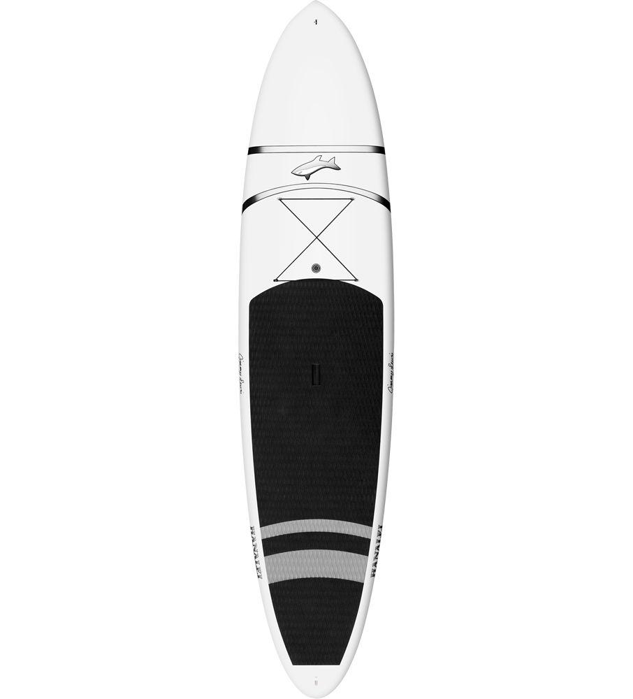 波乗りとフラットウォーターの両方に最適なボードです。 直進性のあるアウトラインとクラシックなロッカーのクロスオーバー・オールラウンド・ボード。
