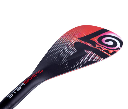Enduro Paddle Tiki Tech Red 1
