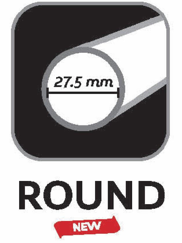 Round shaft 27 5mm
