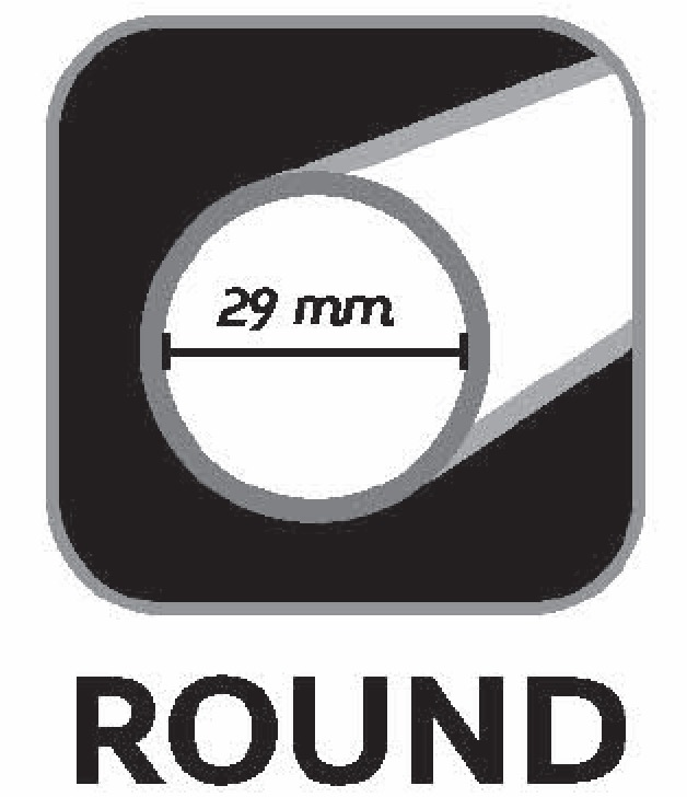 Round shaft 29mm