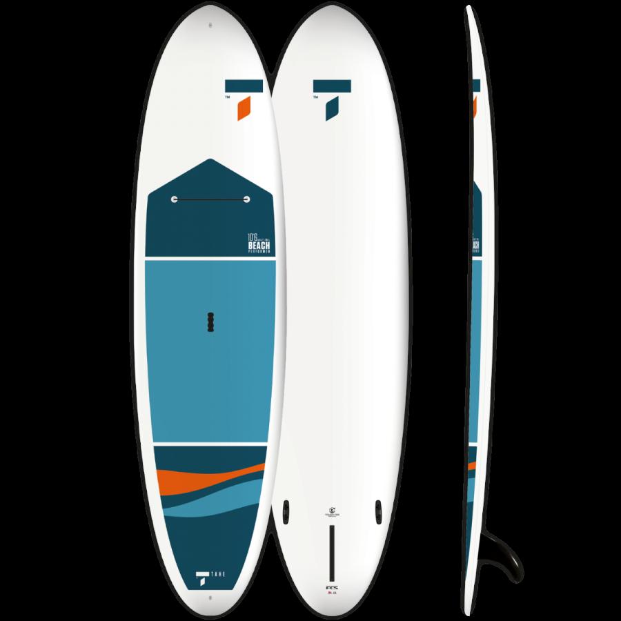 フラットウォーターでのクルージングから、SUPサーフィンまで可能な、コストパフxーマンスが高い、オールラウンドハードボード。
